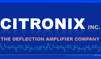 Citronix Deflection Amplifiers!
